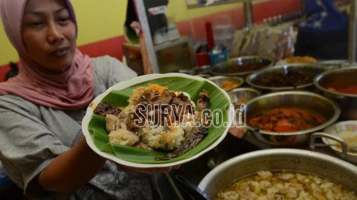 Nasi Krawu kuliner khas Kabupaten Gresik