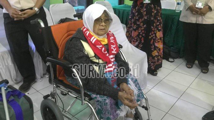 Kisah Nenek Sukinah, CJH 93 Tahun Asal Magetan, Berharap Diberi Kesehatan Selama di Tanah Suci
