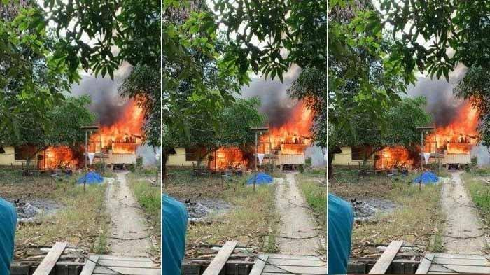 Dikira Ban Terbakar, ternyata Seorang Nenek Dilalap Api Hidup-hidup di Dalam Rumah, Tubuhnya Hangus