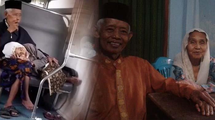 Nenek 12 Cucu Tidur di Pangkuan Kakek di Kereta Prameks, Video Romantisnya Viral dan Banjir Doa