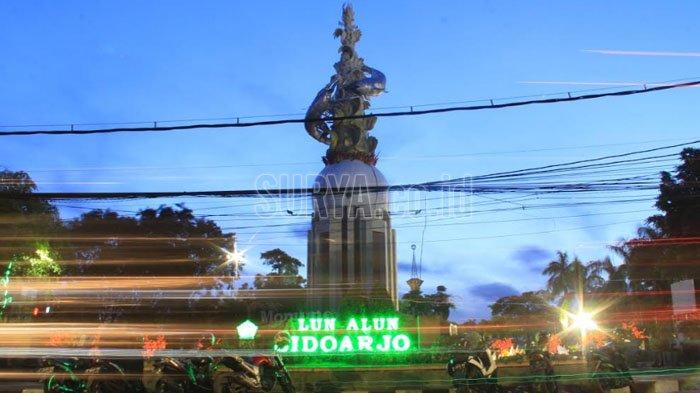 Alun-alun Sidoarjo Tempat Favorit Untuk Ngabuburit