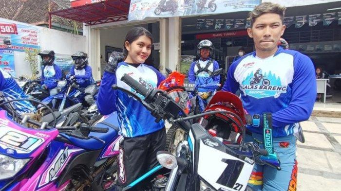 Crosser Profesional, Adela, Ikut Ramaikan Ngalas Bareng Yamaha WR 155