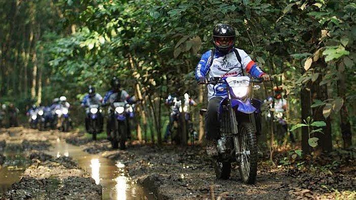 Ngalas Bareng Yamaha Jatim di Malang, Peserta: Keindahan Alam Malang Senyaman WR 155