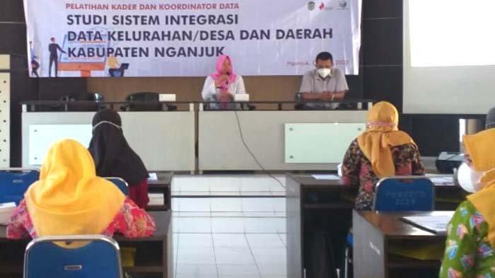 Sukseskan Satu Data Indonesia, Pemkab Nganjuk Tingkatkan Kualitas Kader Data di Desa/Kelurahan