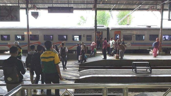 Dampak Banjir Jakarta terhadap Sejumlah Perjalanan KA di Wilayah Daop 7 Madiun