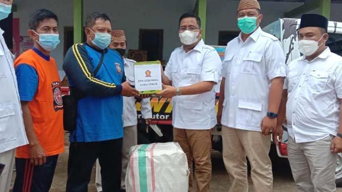 Partai Gerindra Salurkan Bantuan untuk Korban Longsor di Kabupaten Nganjuk