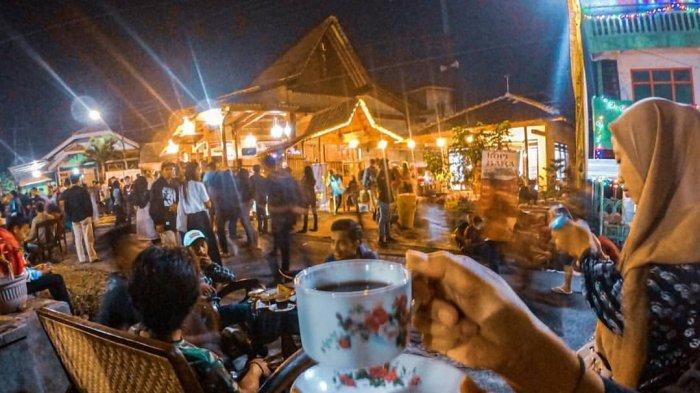 Menikmati Akhir Pekan di Festival Ngopi Sepuluh Ewu di Desa Adar Kemiren, Glagah, Banyuwangi