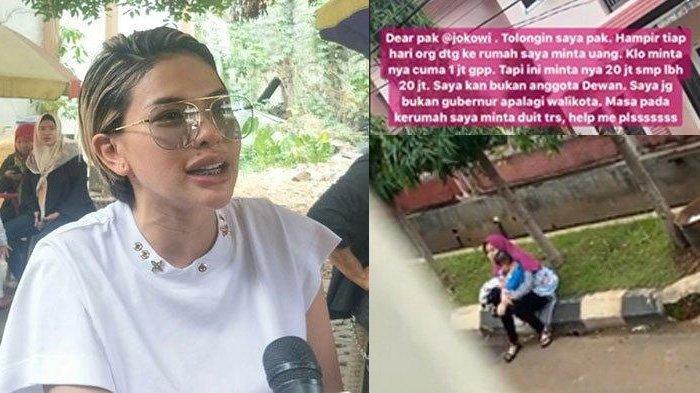 Nikita Mirzani Ngadu ke Jokowi Karena Resah Dimintai Uang 20 Juta oleh Oknum Tak Dikenal: Help Me!