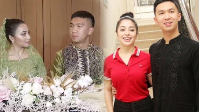 Nikita Willy dan Indra Priawan usai bertunangan pada Minggu (27/7/2020).