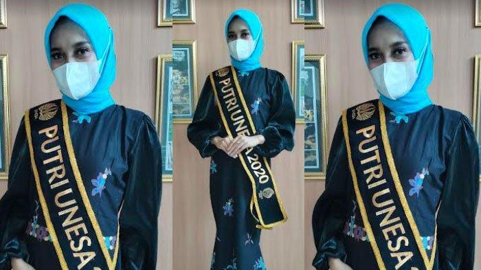 Sosok Putri Unesa 2020 Nur Farsah Meilinia, Dulu Paling Ogah Dandan