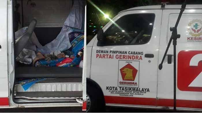 5 FAKTA Mobil Ambulans Gerindra Berisi Batu di Aksi 22 Mei, Tunggak Pajak STNK & Tak Ada Alat Medis