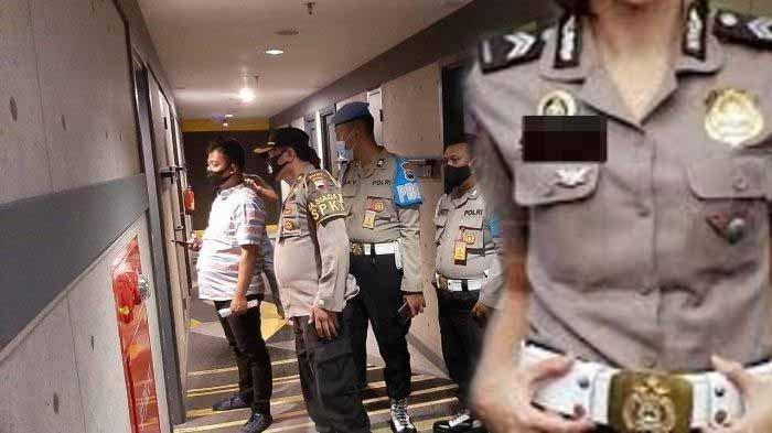 Video 7 Menit 15 Detik Oknum Polwan dan Senior Polsek Berduaan di Hotel Digerebek Suami dan Propam