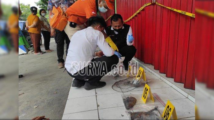 Olah TKP Kebakaran Toko di Kabupaten Ponorogo, Ledakan Diduga dari Tiga Barang Ini