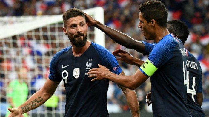 Olivier Giroud Gabung AC Milan Usai Bela Timnas Prancis di EURO 2020