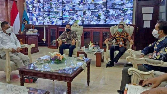 Ombudsman Jatim Temui Wali Kota Surabaya Eri Cahyadi, Bahas Aduan Hingga Apresiasi Aplikasi WargaKu