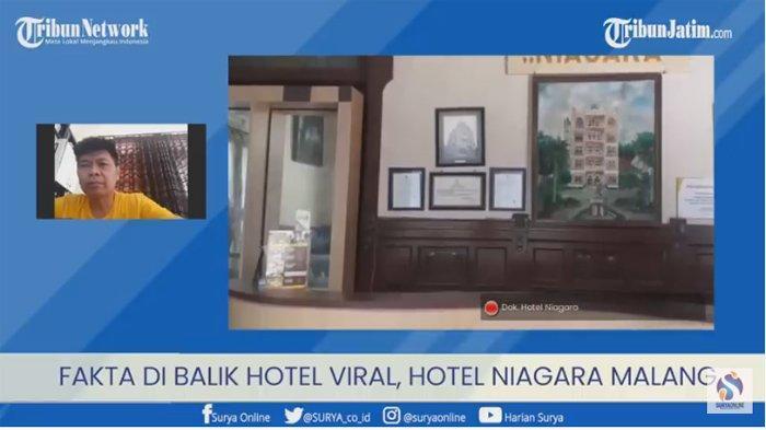Ongko Budiarto Pemilik Hotel Niagara di Lawang Malang Soal Cerita Mistis yang Viral di TikTok