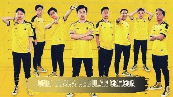 Hasil dan Klasemen MPL Season 7 Week 8: Kalahkan Alter Ego, Onic Esports Kunci Posisi Puncak