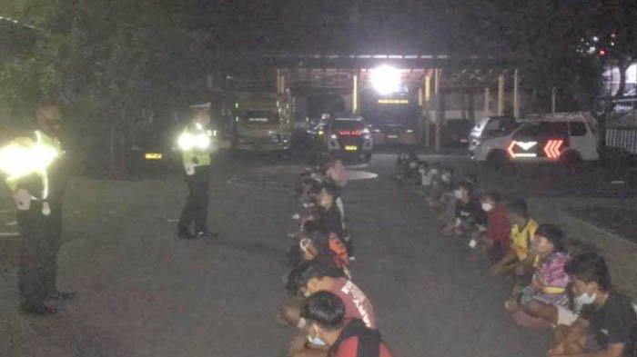 Bubarkan Arena Balap Liar di Kota Blitar, Polisi Amankan 52 Pengendara