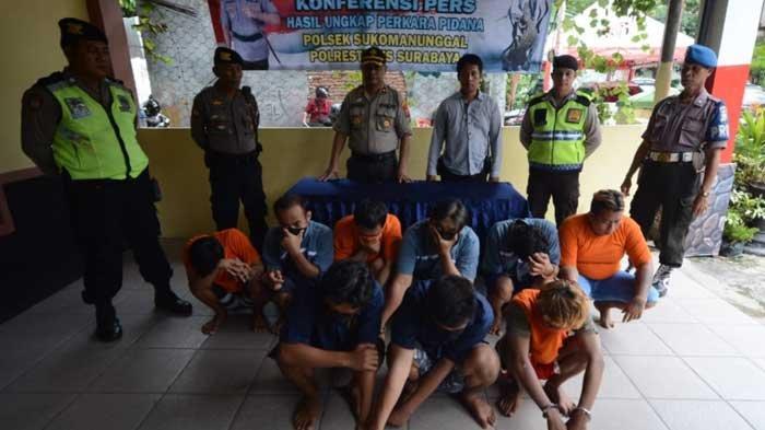 Seminggu Gelar Operasi, Ini yang Berhasil Diungkap Polsek Sukomanunggal Surabaya