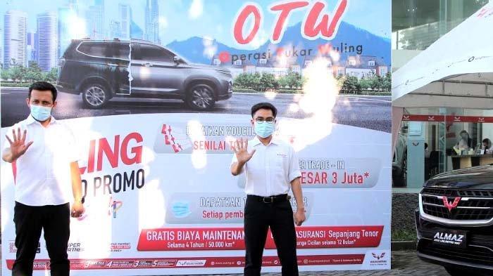 Miliki Wuling Almaz lewat Program Tukar Tambah di Tiga Dealer ini di Surabaya