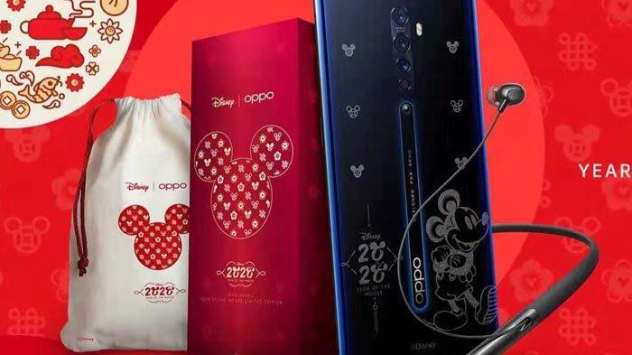 OPPO Reno 2 Year of The Mouse Limited Edition Bisa Dipesan Besok Lewat Blibli, Ini Keunikan