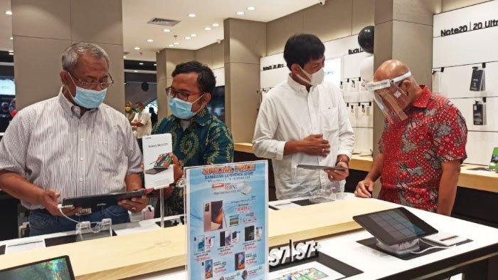 Gandeng BNI, Apollo Re-Opening Gerai Samsung di WTC e-Mall