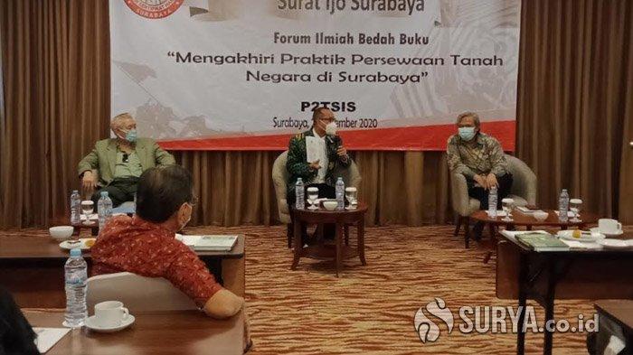 Lewat Buku Arek Suroboyo Menggugat, P2TSIS Diskusi Persoalan Surat Ijo di Surabaya