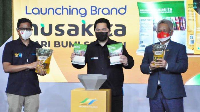 PTPN Group Luncurkan Produk Ritel Nusakita guna Penuhi Bahan Pokok Kualitas Premiun Harga Terjangkau