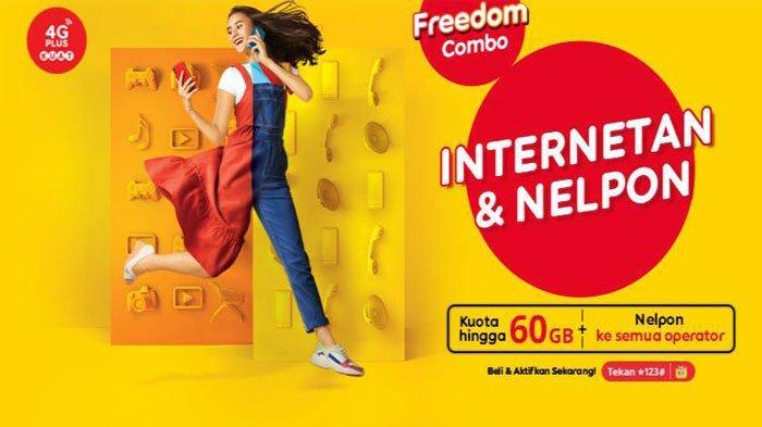Cara Beli Kuota Freedom Combo Indosat Ooredoo, Promo Paket Internet Murah 8 GB Cuma Rp 35 Ribu