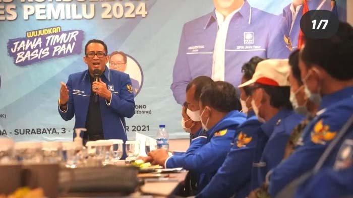 Persiapan Pemilu 2024, PAN Jatim Fokus Konsolidasi Internal