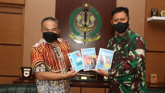 Pangdivif 2/Vira Cakti Yudha Kostrad Apresiasi Konsistensi Dr Aqua Dwipayana Laksanakan Silaturahim