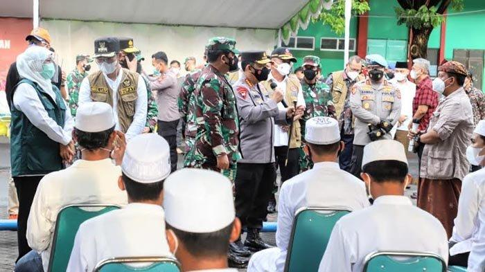 Mulai Besok Panglima TNI dan Kapolri Turunkan Pasukan di Bangkalan untuk Lakukan Tracing