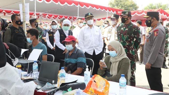 Panglima TNI dan Kapolri Kembali Kawal Vaksinasi Warga Bangkalan