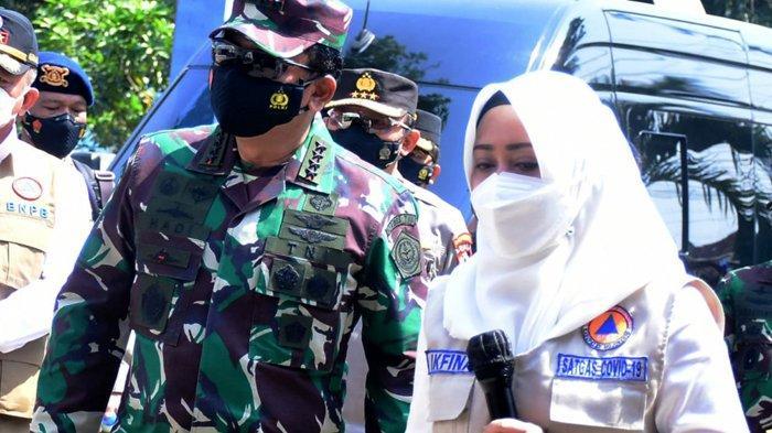 Panglima TNI Minta Pakai Masker dan Isoman Jadi Kebiasaan Baru Hidup Dampingan dengan Covid-19