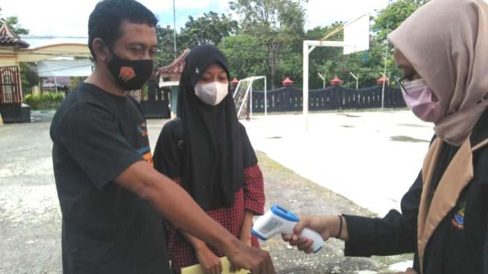 Bangkalan Zona Merah Sebaran Covid-19, Daftar Ulang Siswa Baru SMAN 2 Dibagi Tiga Gelombang