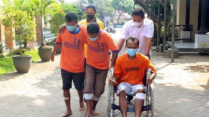 3 Gembong Maling di Kediri Dibekuk Polisi, Tiga Bulan Bisa Curi 16 Sepeda Motor
