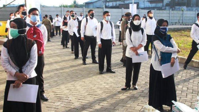 350 Calon ASN di Kota Malang Ikuti Tes Seleksi Kompetensi Dasar Hari ini