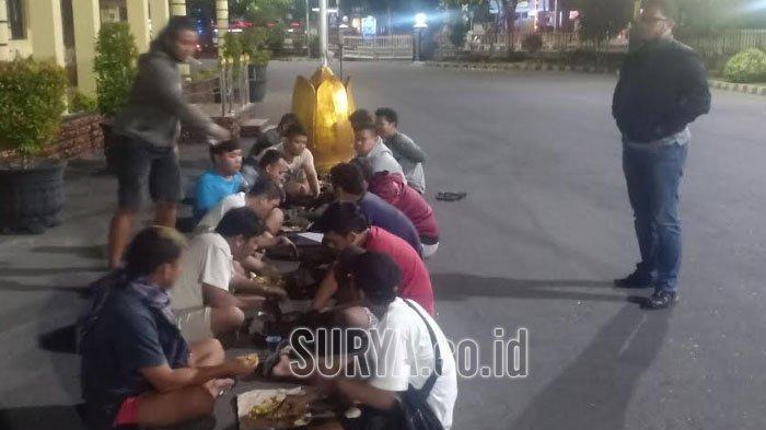 Polisi Tangkap 14 Remaja Balap Liar di Ring-road Kota Madiun, Diduga Jadi Ajang Taruhan