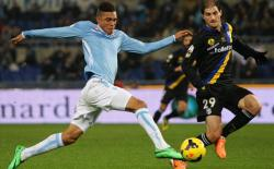 LIVE SCORE LIGA ITALIA, Babak Pertama Lazio vs Roma, 2 - 1