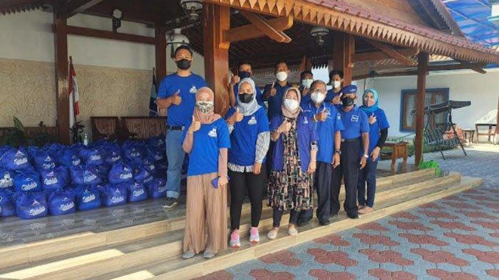 Demokrat Jatim Salurkan Ribuan Sembako untuk Warga di Tengah Pandemi Covid-19