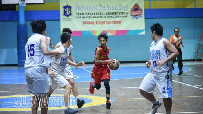 Turnamen Basket SMP se-Surabaya bakal Digelar Tiap Tahun, selain itu Olahraga ini juga Dikembangkan