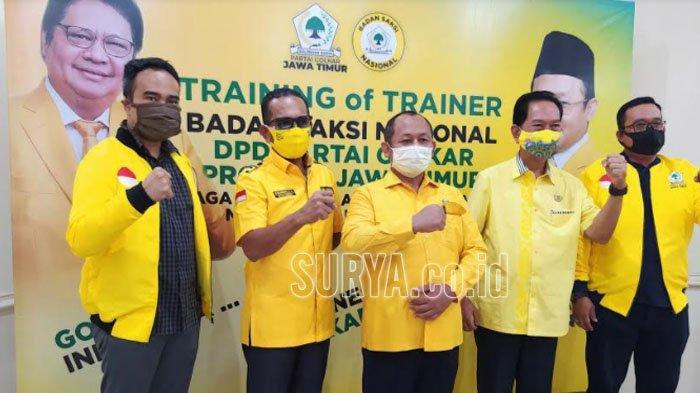 Partai Golkar Gelar Pelatihan Saksi, Target Menang 70 Persen saat Pilkada Serentak di Jatim