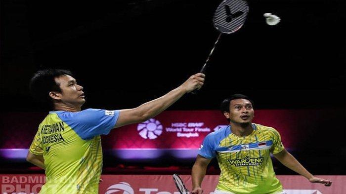Hasil BWF World Tour Finals, Minggu 31 Januari 2021: Ahsan/Hendra Tumbang, Gagal Pertahankan Gelar