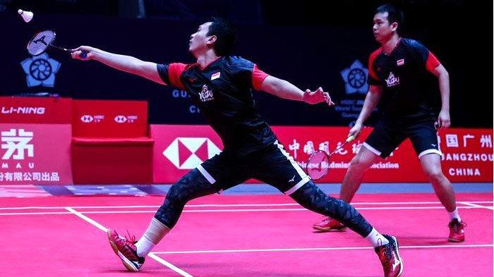 Hasil Lengkap Turnamen BWF World Tour Finals 2019: China 3 Gelar, Indonesia Kebagian Ganda Putra