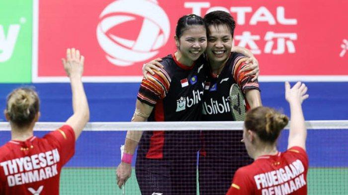 Hasil Final Thailand Open 2021: Greysia/Apriyani Juara Ganda Putri Taklukkan Perwakilan Tuan Rumah