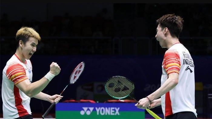 Hasil Indonesia vs Jepang Semifinal Sudirman Cup 2019, Kevin/Marcus Menang! Skor Sementara 1-0