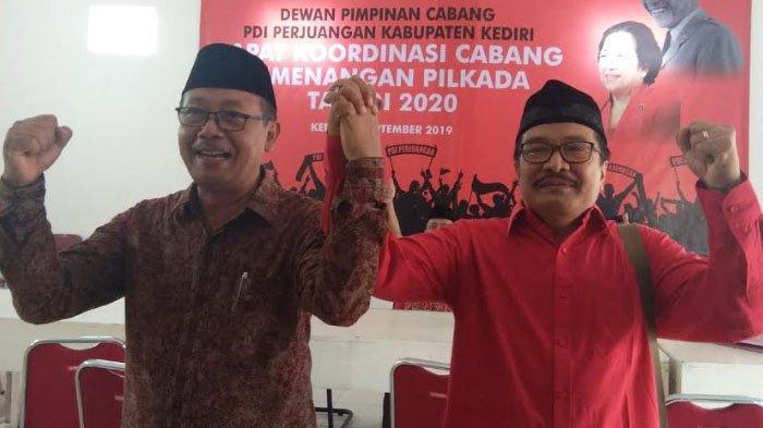 Pilbup Kediri 2020: Reaksi Mujahid - Eko terkait Kabar Rekom PDIP Jatuh kepada Putra Pramono Anung