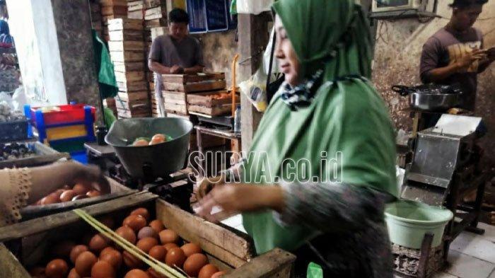 Segini Harga 11 Bahan Pokok Jelang Natal dan Tahun Baru 2020 di Pasar Kabupaten Mojokerto
