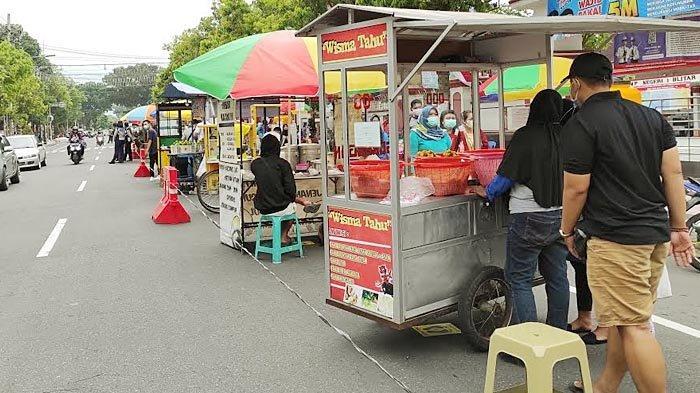 Fokus Operasi Ketupat, Pelaksanaan Pasar Takjil di Kota Blitar Diperpendek Hanya Dua Pekan