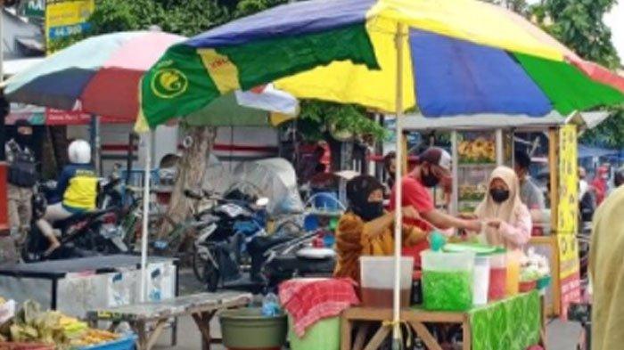 Geliat Pasar Takjil Jalan Karangmenjangan Surabaya Mulai Kembali, Ini Daftar Sajiannya